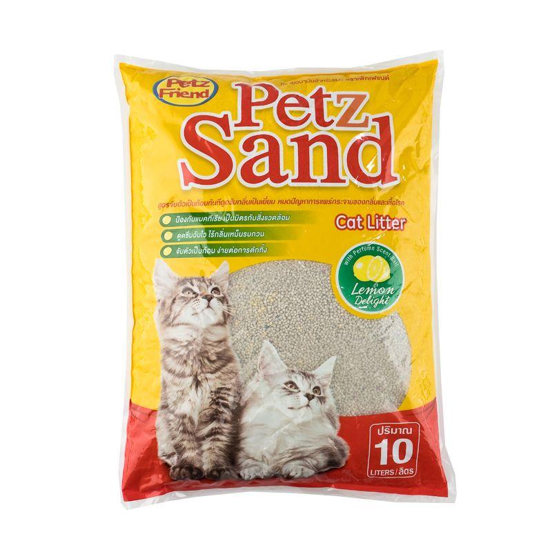 เพ็ทส์เฟรนด์ ทรายแมว กลิ่นมะนาว 10 ลิตร