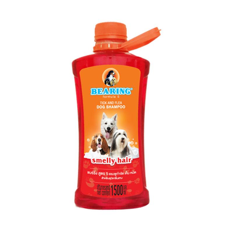แบร์ริ่ง แชมพู สูตร 5 สำหรับสุนัขกลิ่นสาบ 1500 ซีซี